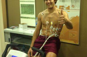 Jordi Carrera, jugador d'hockey herba a l'Atletic Terrassa. Foto: bernatdepablo.cat
