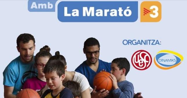 Dinamiks i la UESC amb La Marató de TV3