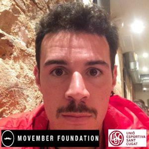 El gran capità Patrick Reyes solidari amb Movember