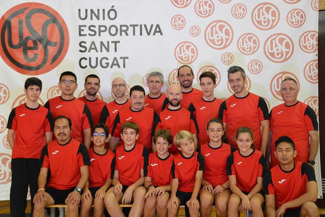 UESC Tennis Taula 2018 - 19